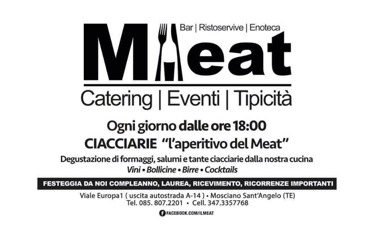 Meat Food e Beverage mosciano 22 vvl