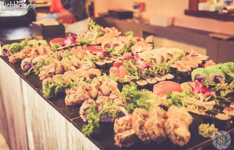 Fishbones fish sushi 1