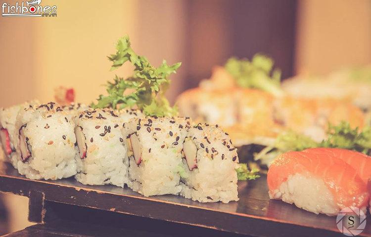 Fishbones fish sushi 2