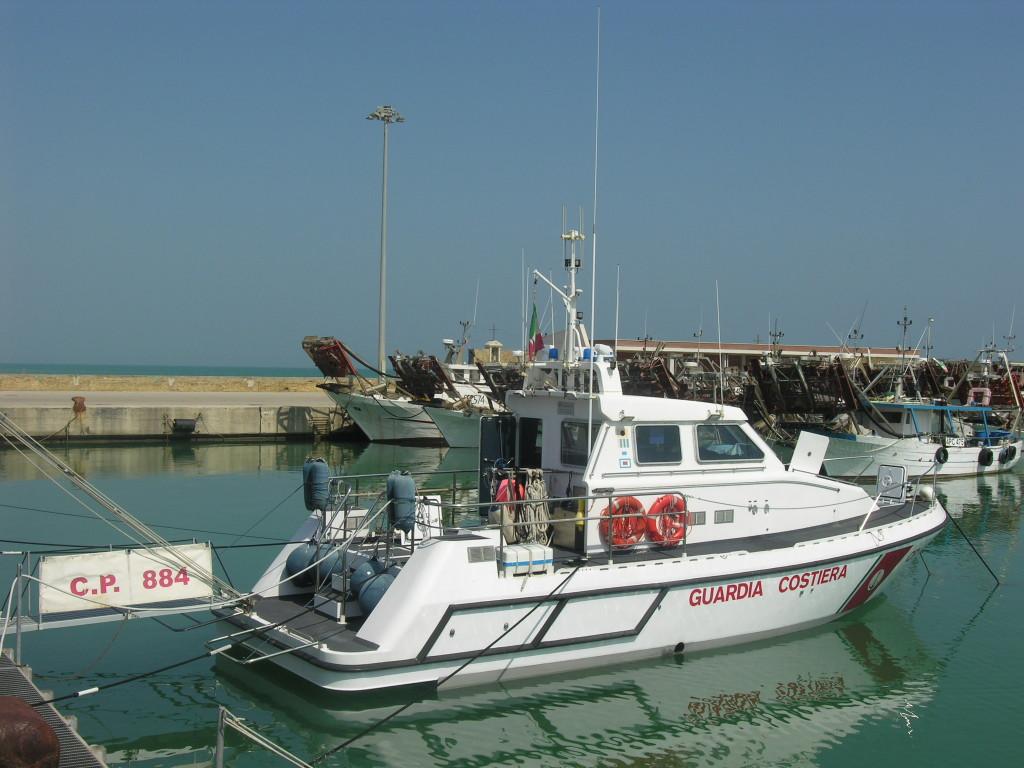 Motovedetta Guardia Costiera Giulianova