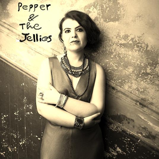 Copertina disco Pepper & The Jellies. Foto di Claudia Petraroli