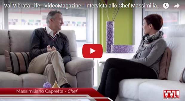 Nuovi orizzonti per lo chef Massimiliano Capretta
