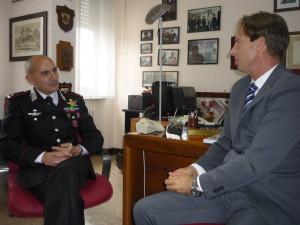 sindaco e generale Sirimarco