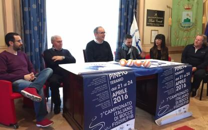 A Pineto i campionati italiani di bocce per disabili