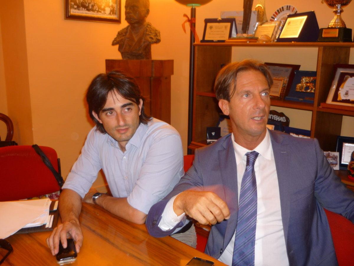 sindaco e assessore Ruffini