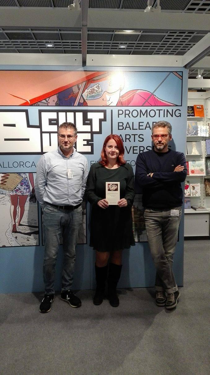 Fiera del libro di Francoforte: incontro tra la Di Felice Edizioni di Martinsicuro e l'Institut d'Estudis Baleàrics