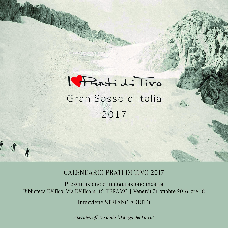 Presentazione del calendario Prati di Tivo 2017