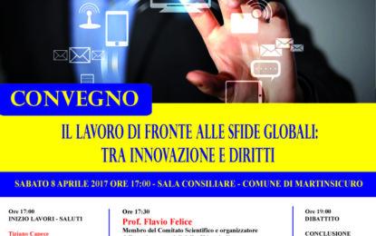 """A Martinsicuro  """"Il lavoro di fronte alle sfide globali: tra innovazione e diritti"""""""
