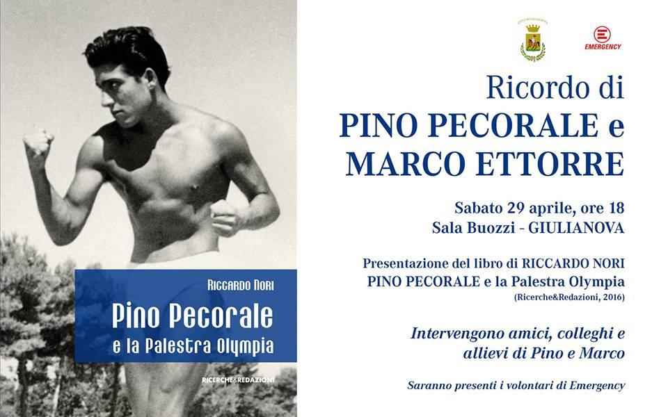 """in Sala """"Buozzi"""" presentazione del libro di Riccardo Nori """"Pino Pecorale e la Palestra Olympia"""""""