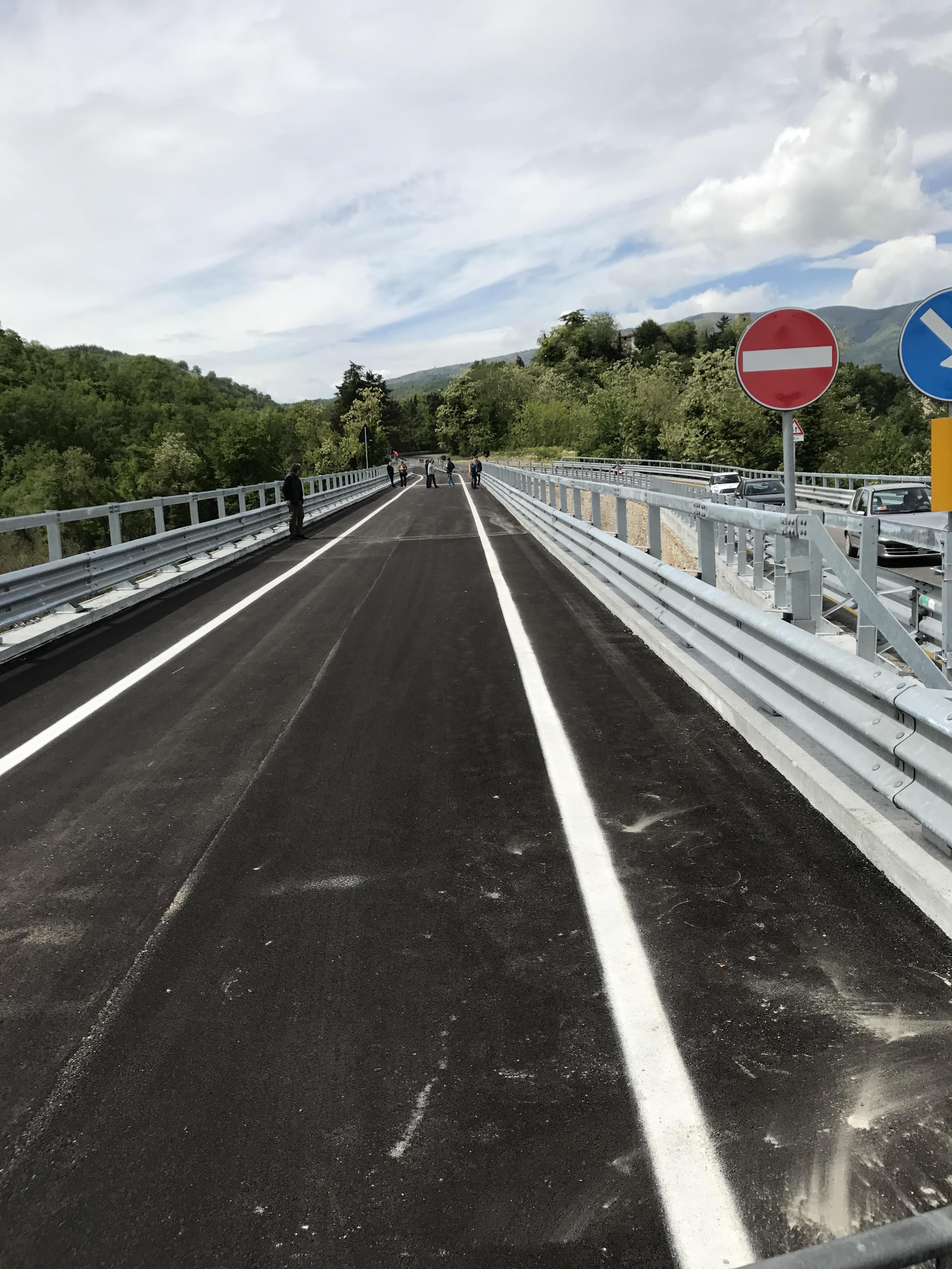 Con il ponte di Nocella Campli torna a vivere