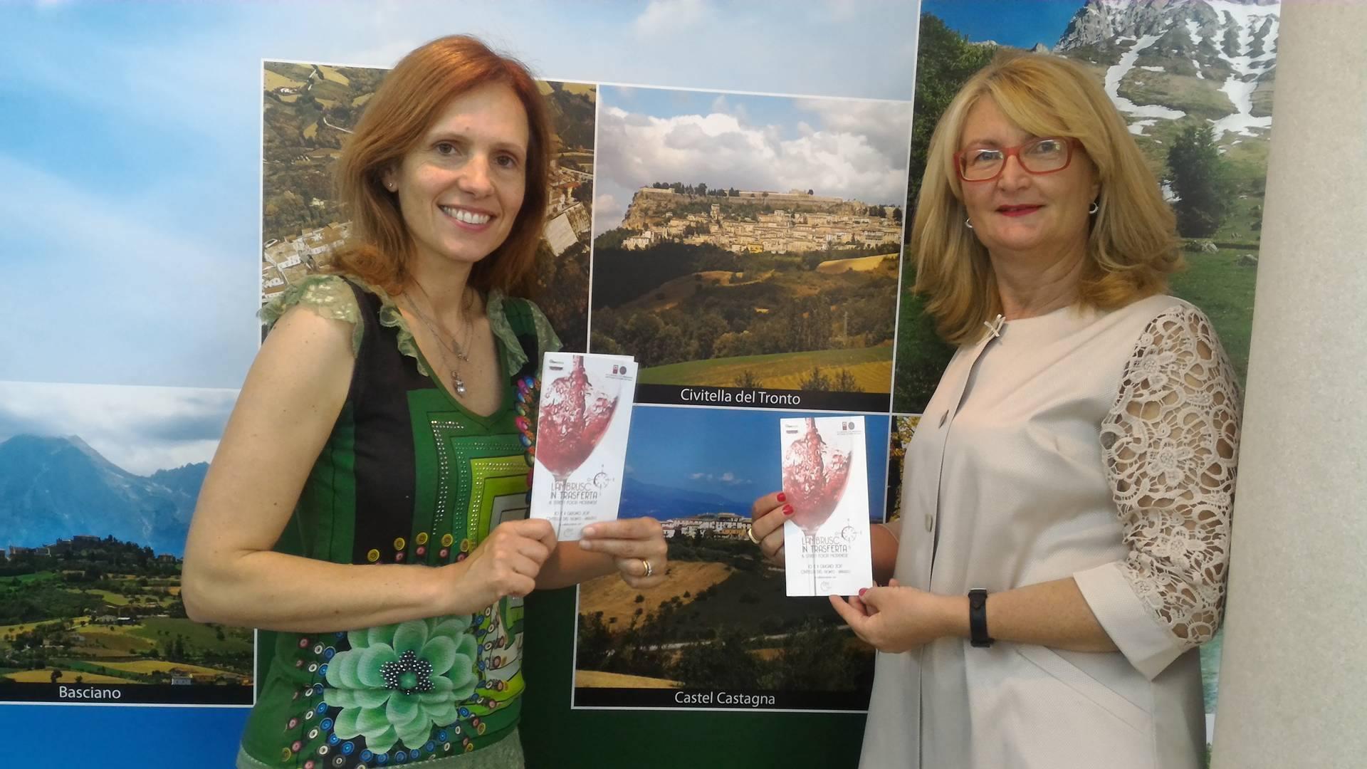 Il lambrusco va in trasferta a Civitella: evento per la promozione e la ricostruzione