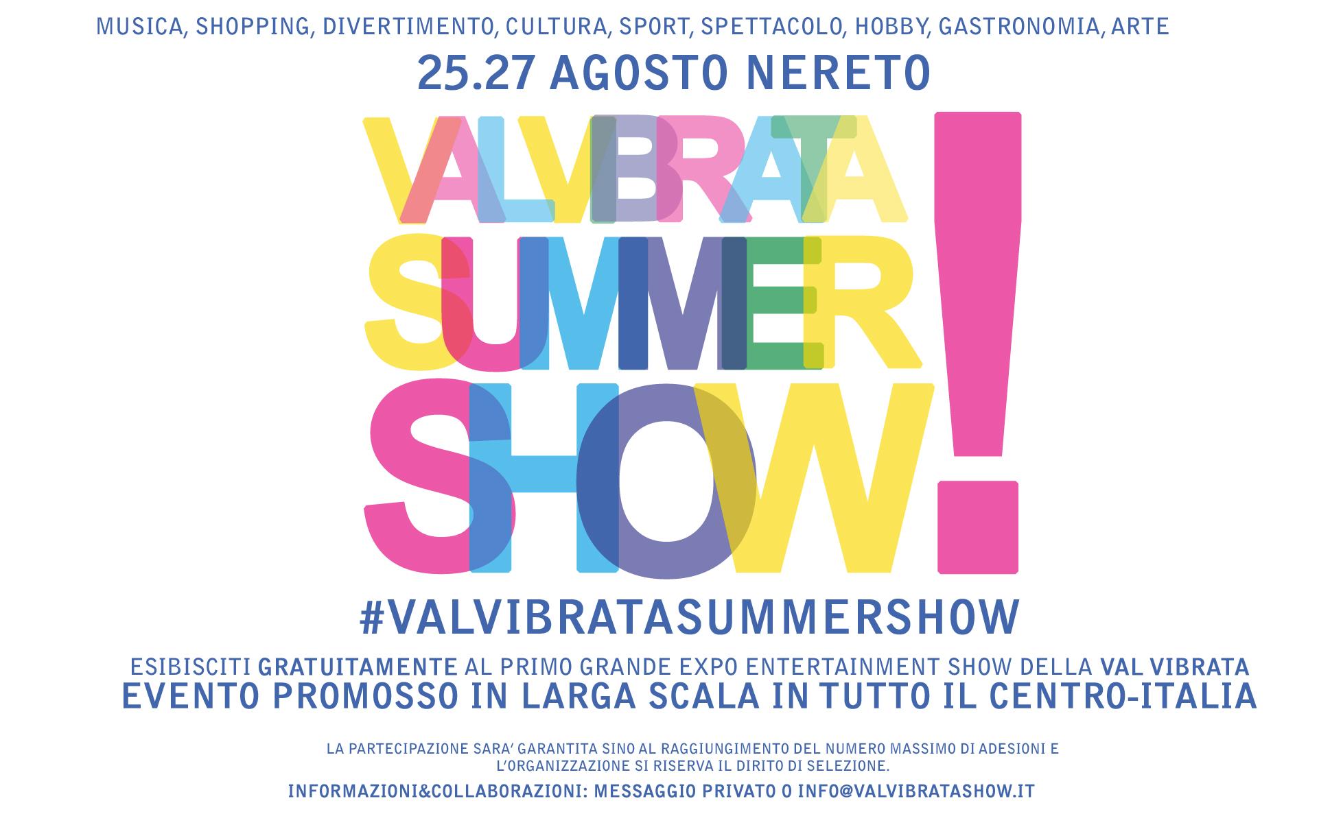 A Nereto la prima fiera-evento della Val Vibrata per la promozione del territorio