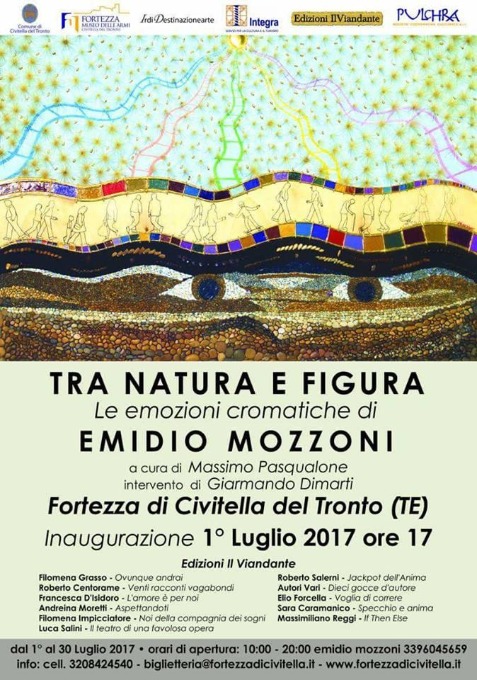 """In Fortezza """"Tra Natura e figura"""", le emozioni cromatiche di Emidio Mozzoni"""