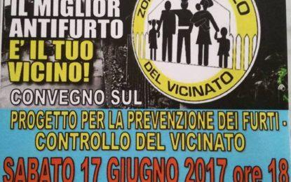 Nereto, controllo del vicinato: convegno sulla prevenzione dei furti