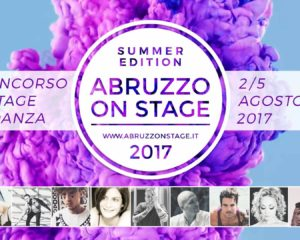 Danza: Torna Abruzzo On Stage – Summer Edition 2017