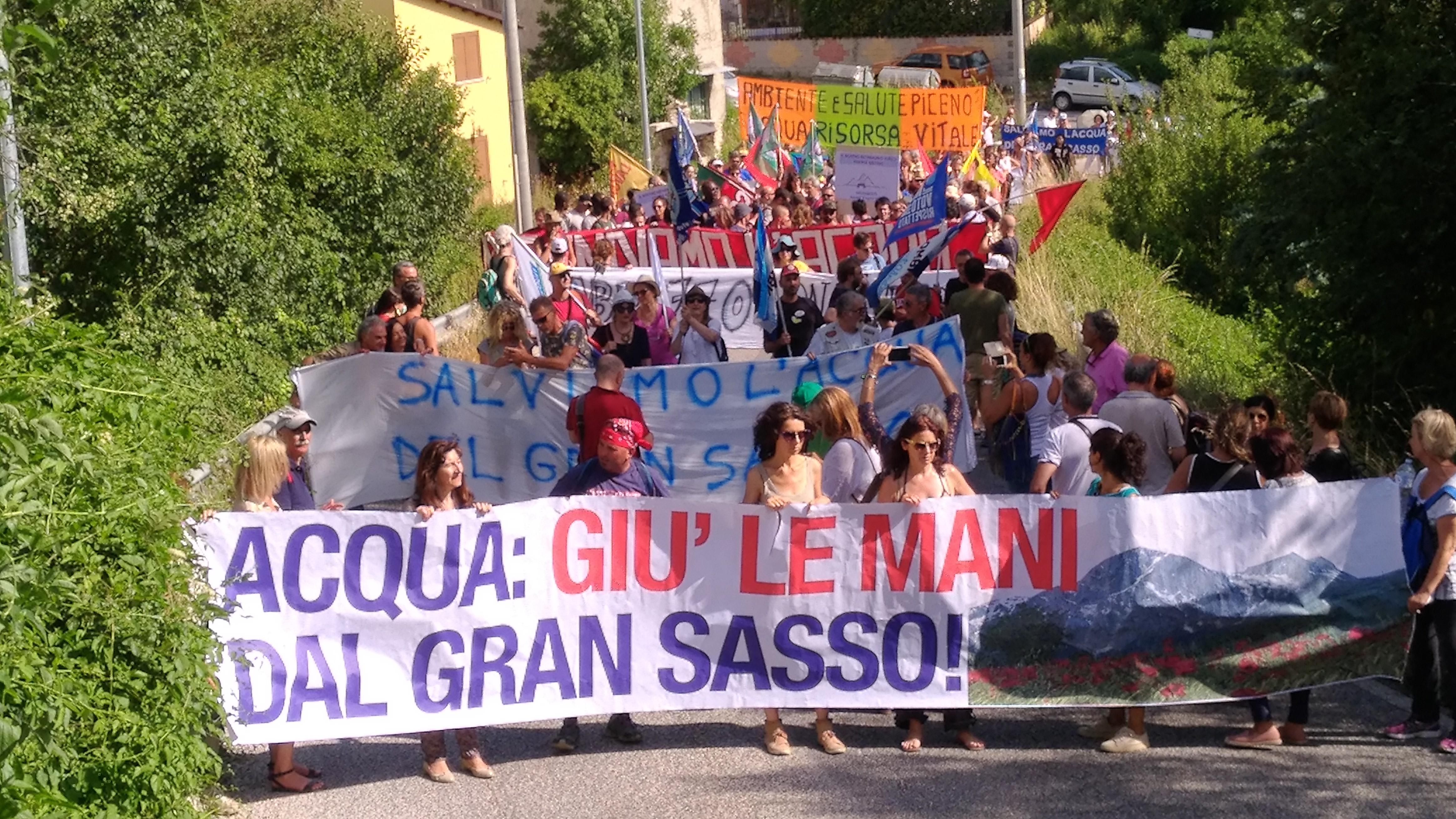 Sicurezza del sistema acqua del Gran Sasso: oggi l' Assemblea dei Sindaci