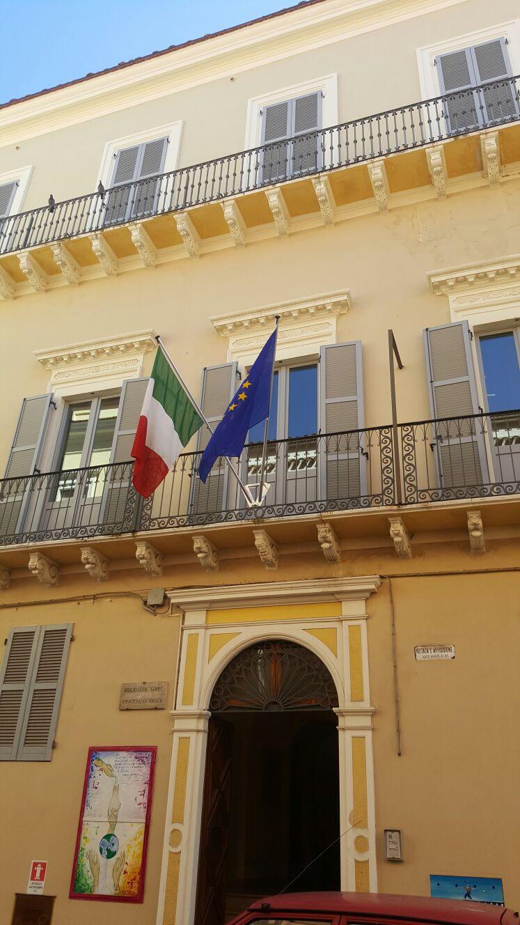 Giulianova, riapre la biblioteca Bindi dopo i lavori sul lucernaio