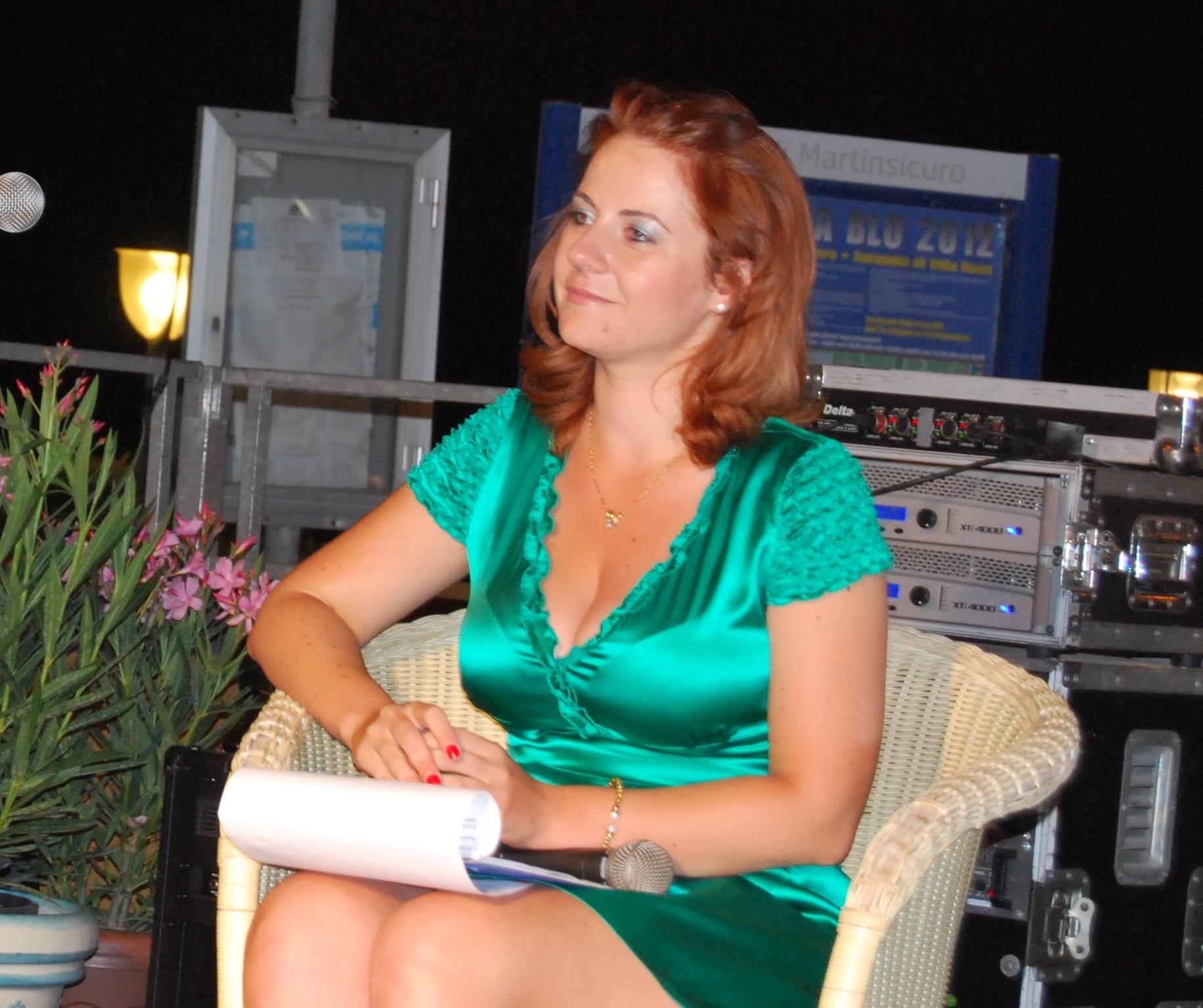 il segretario del Premio ed editrice Valeria Di Felice