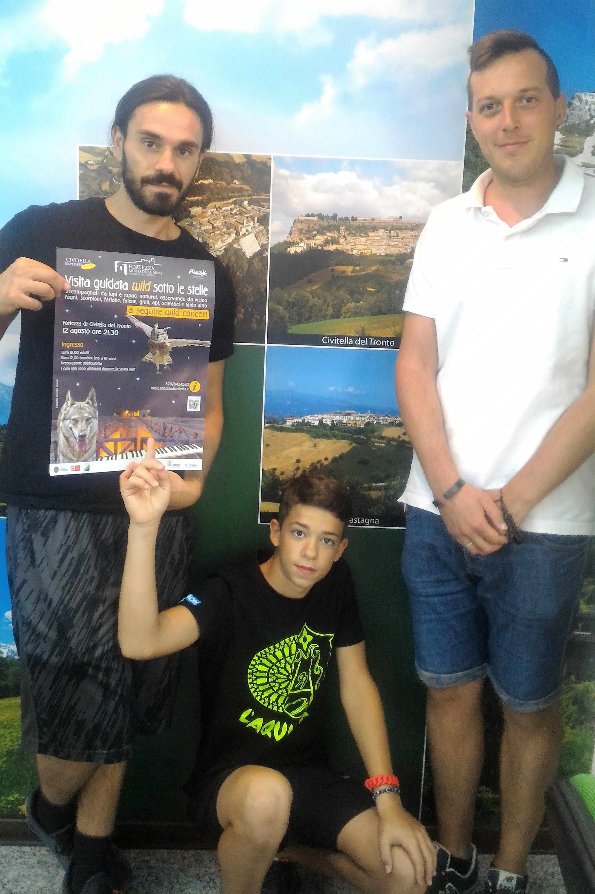 Fortezza Civitella: visita e concerto wild sotto le stelle in compagnia di lupi e rapaci notturni