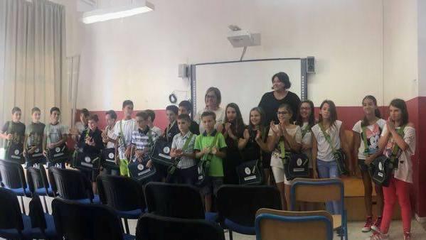 Inaugurata la prima scuola media senza zaino d'Abruzzo