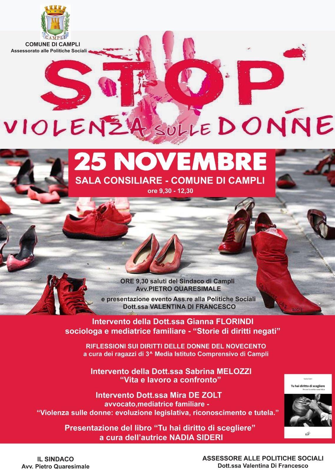 A Campli un convegno per combattere la violenza sulle donne