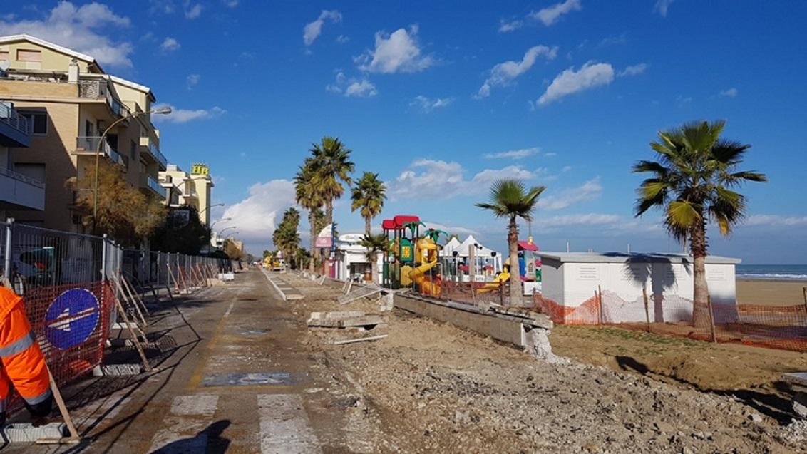 Roseto, strada provinciale del Borsacchio chiusa per lavori fino a venerdì