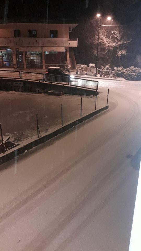 Maltempo, Civitella senza luce e scuole chiuse a Valle Castellana