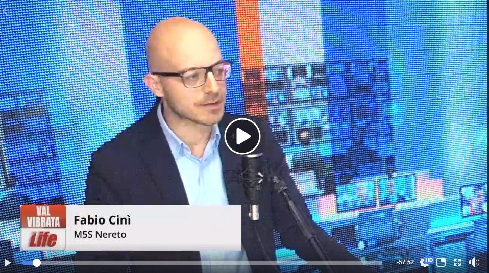 Elezioni comunali Nereto, la parola al candidato sindaco M5S Fabio Cinì