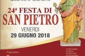 locandina 24° Festa di San Pietro