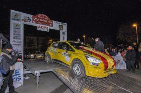 Dedo al Rally Tierra de Madrid
