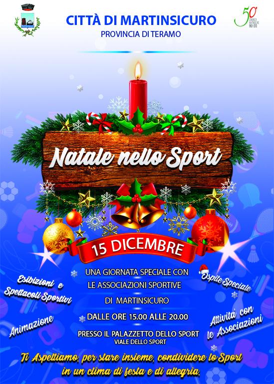 """Martinsicuro in festa al palazzetto con il """"Natale nello Sport"""""""