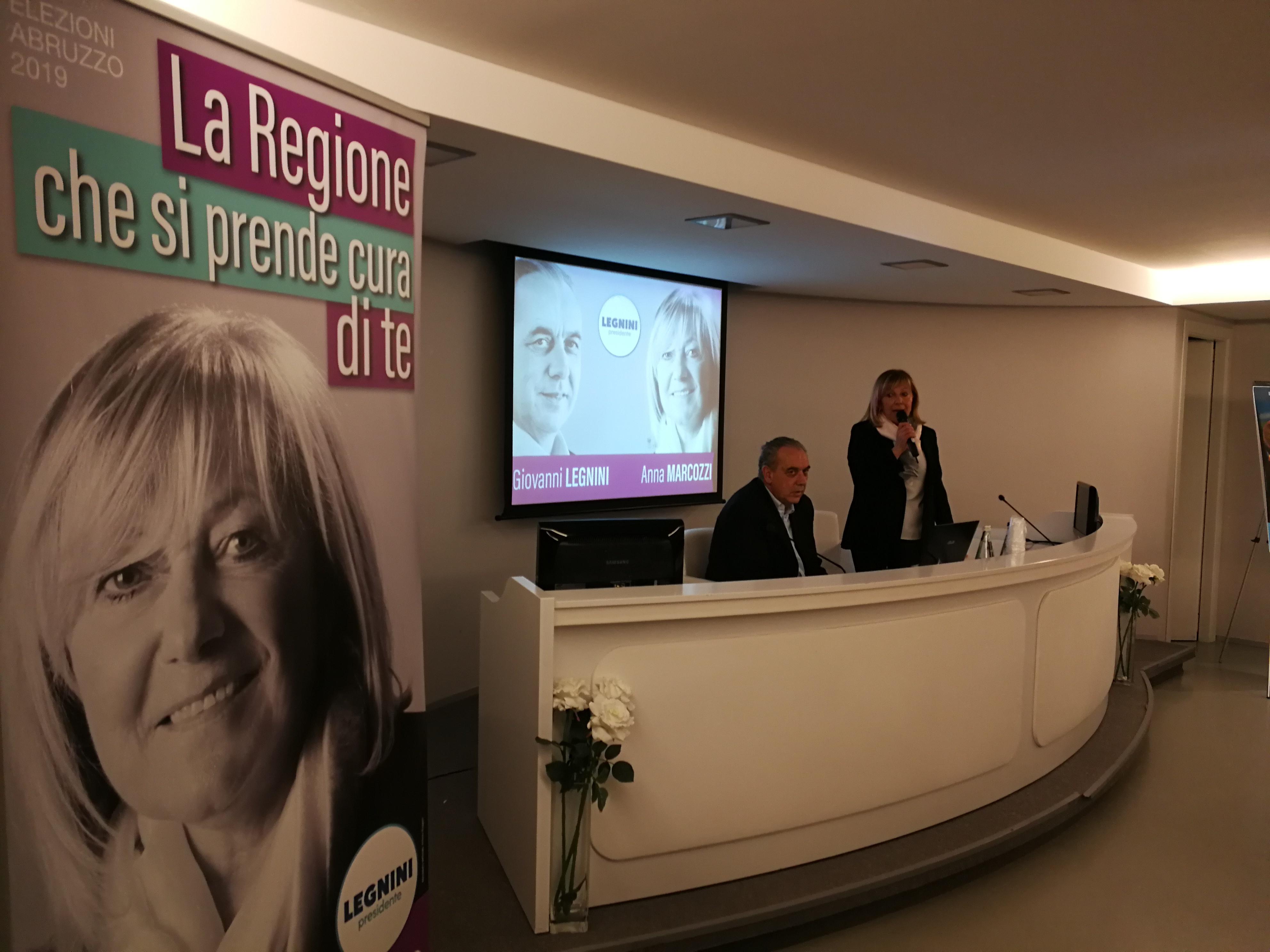 Sanità e qualità dei servizi. Anna Marcozzi e Giovanni Legnini incontrano i cittadini