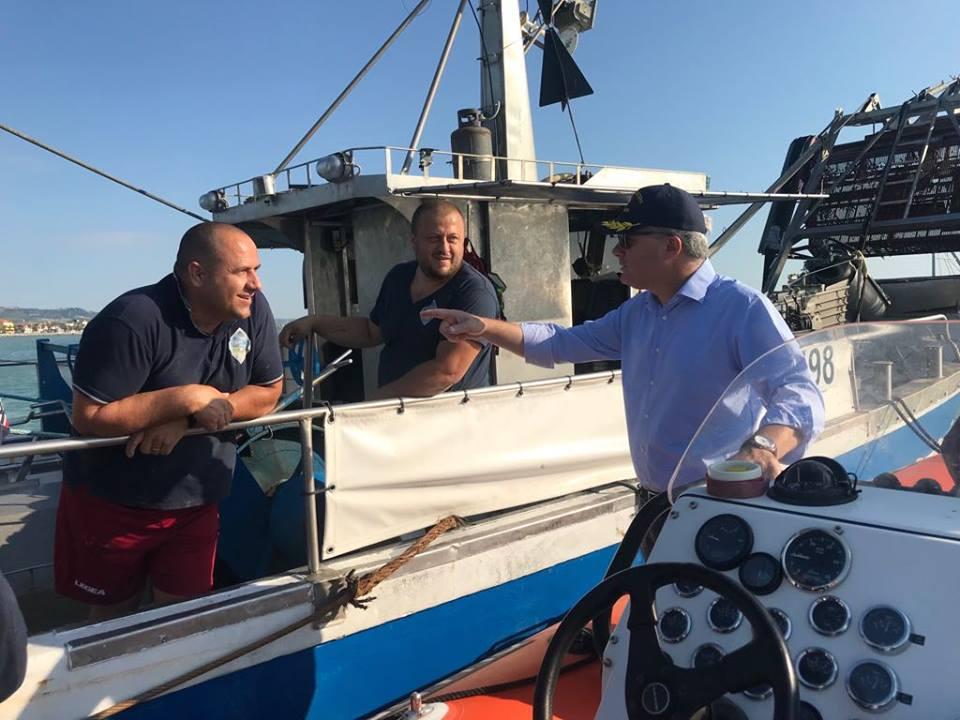 Pepe, in arrivo i primi fondi regionali per il porto peschereccio di Giulianova