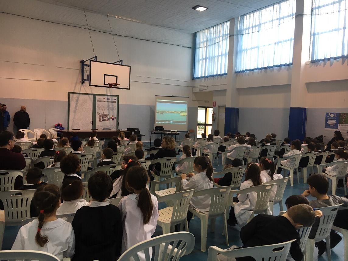 """""""Il mare a scuola"""" fa tappa alla scuola primaria di Alba Adriatica"""