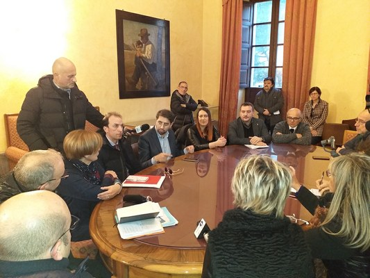 Erosione costa,riunione in Provincia con Regione e sindaci: stanziati 2,5 milioni
