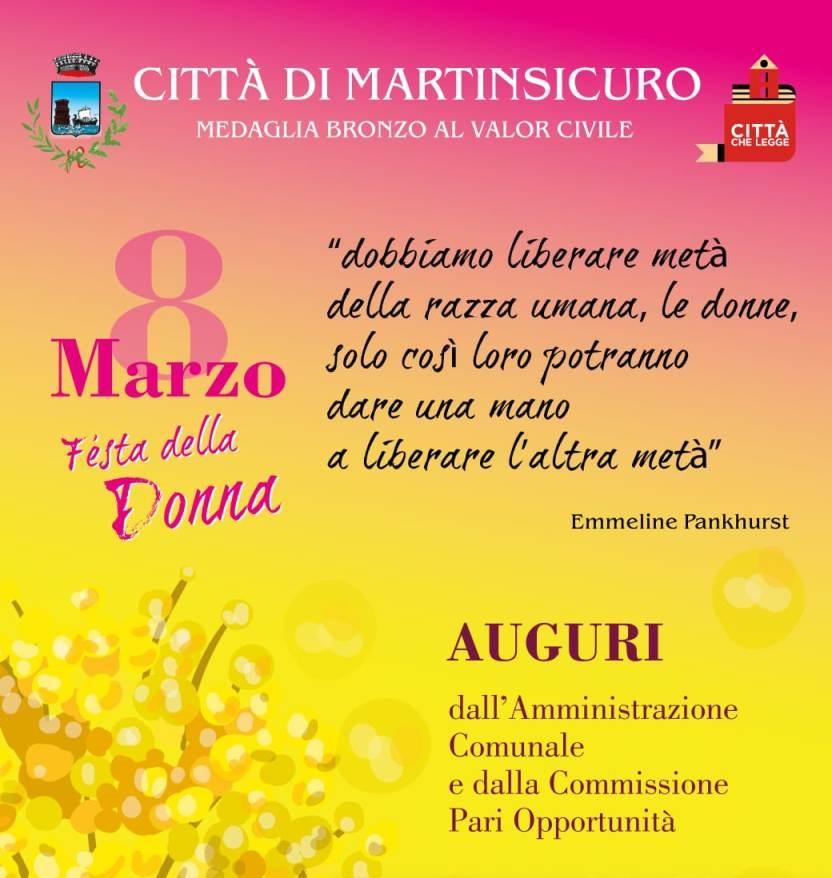 Martinsicuro, Festa della Donna: piazza Cavour addobbata con fiori gialli