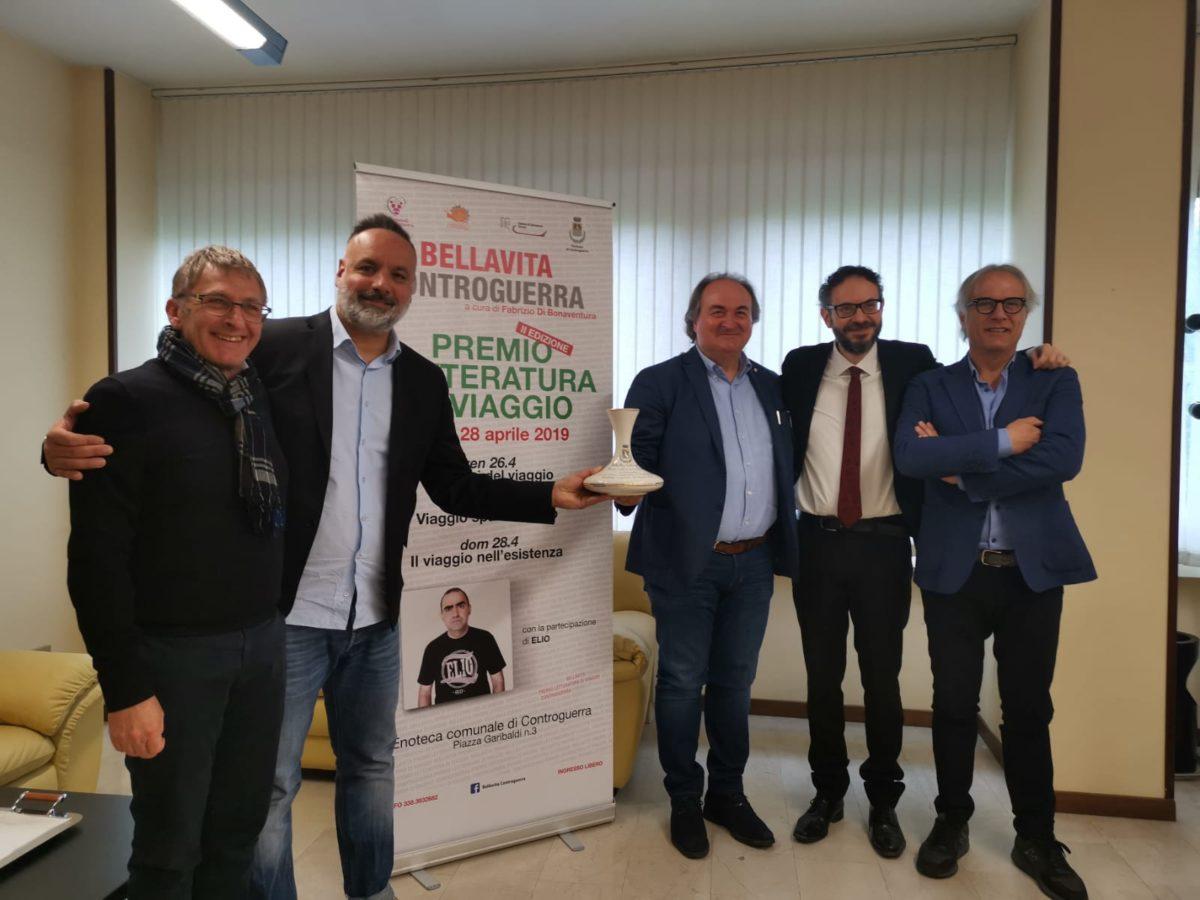 """BellaVita Controguerra, al via la seconda edizione del """"Premio Letteratura di Viaggio"""": ospite Elio"""