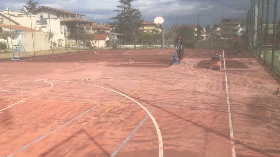 Sant'Omero, al via i lavori al centro sportivo di Garrufo