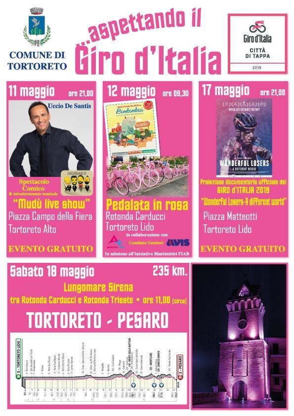 Tortoreto, Aspettando il Giro d'Italia: ecco gli eventi