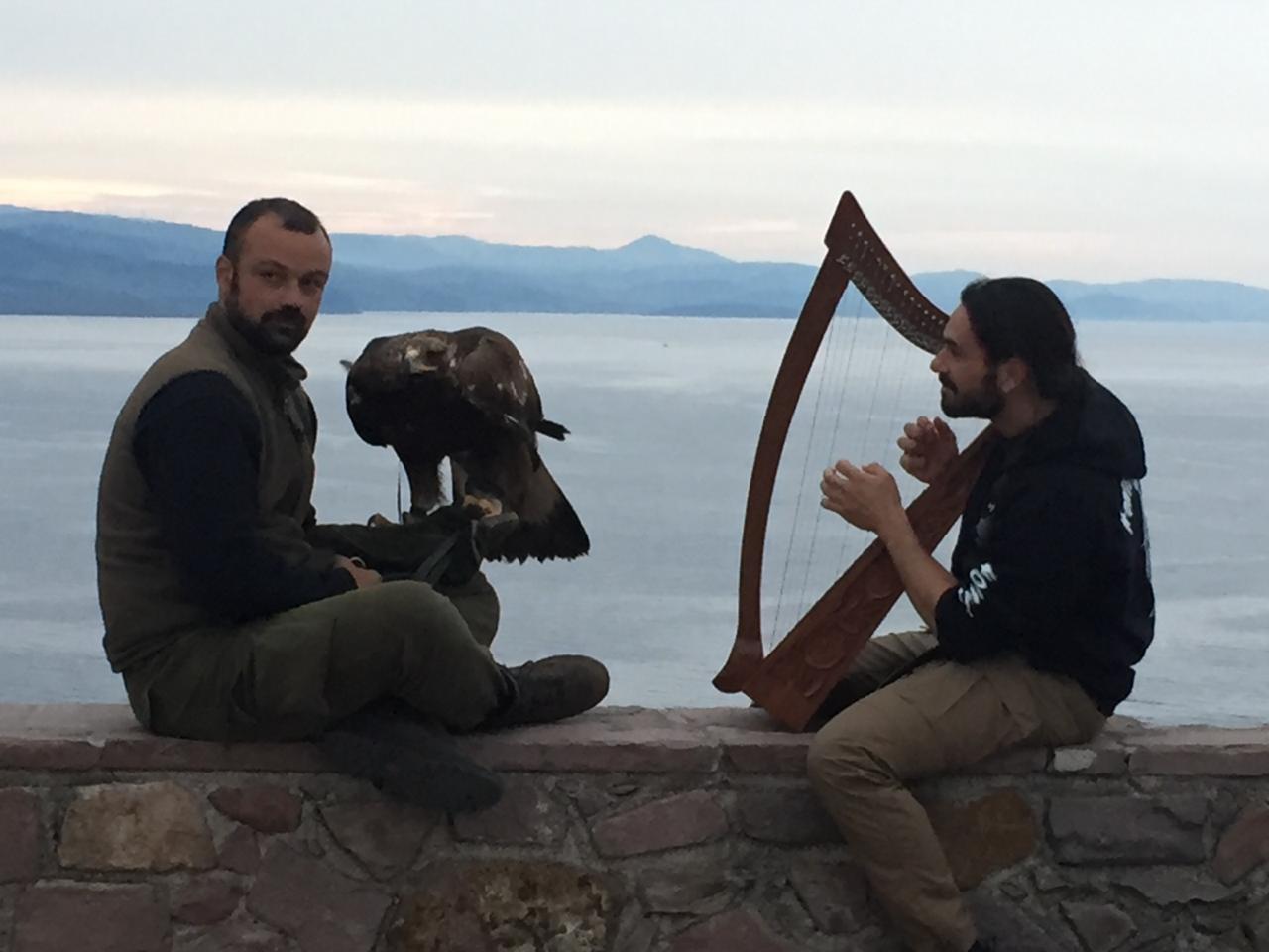 Giovanni Granati sull'Isola di Lesbo per il documentario sugli immigrati del National Geographic