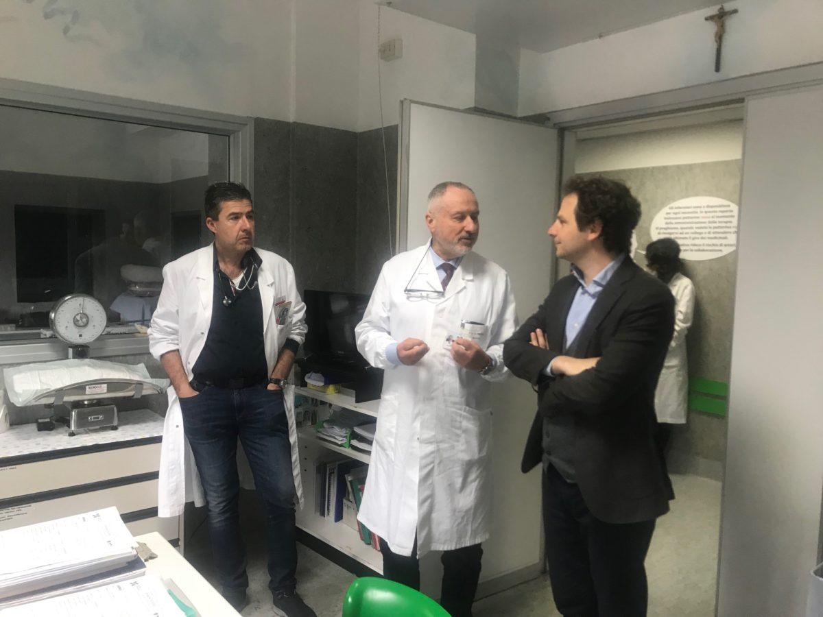 """Zennaro (M5S) visita l'ospedale di Sant'Omero: """"presidio fondamentale per il territorio"""""""