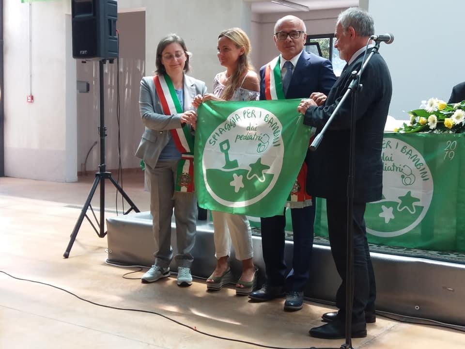 Tortoreto riceve la bandiera verde Pediatrica: spiaggia a misura di bambino