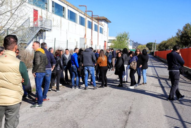 Atr Colonnella, sciopero di 8 ore e picchetto dei lavoratori