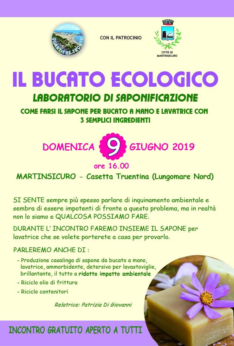 Il bucato ecologico, laboratorio di saponificazione: l'iniziativa a Martinsicuro