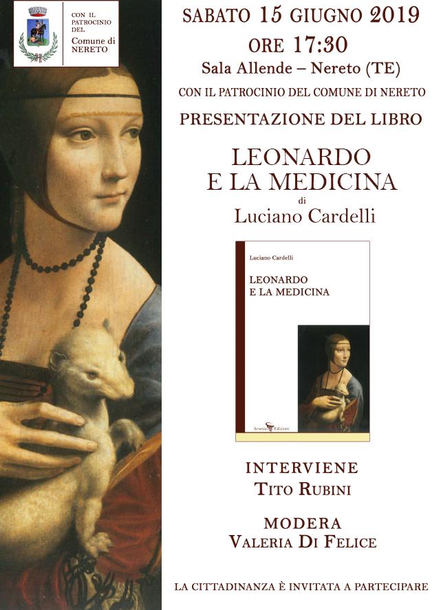 """Nereto, presentazione del libro""""Leonardo e la medicina"""""""