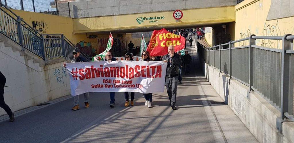 Tortoreto, vicenda Selta: prorogata la cassa integrazione