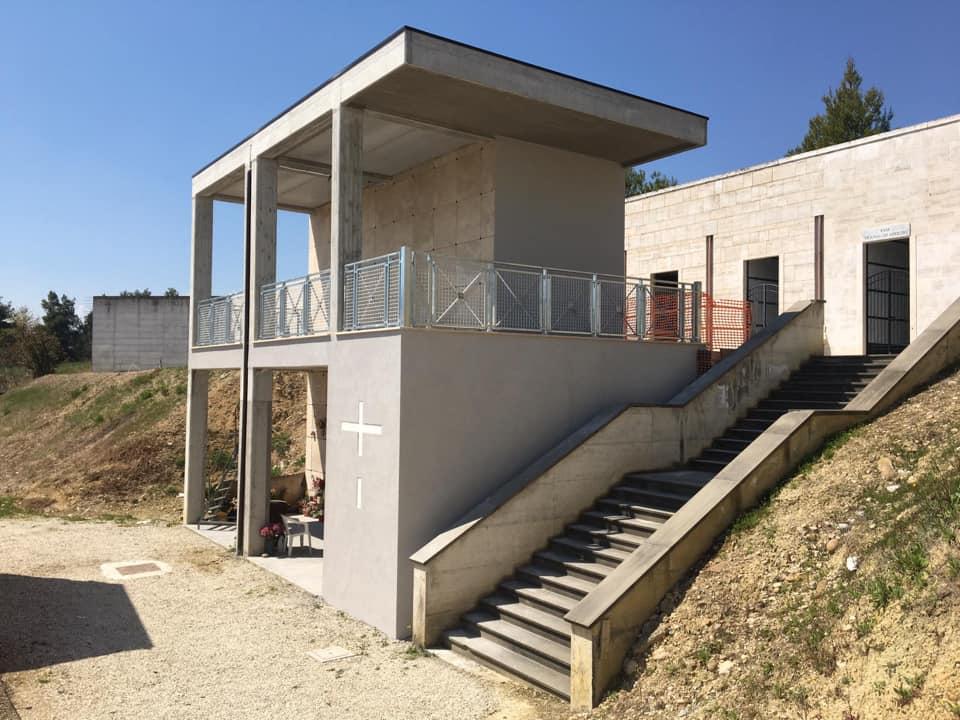 Cimitero Sant'Omero, conclusi i lavori di manutenzione straordinaria