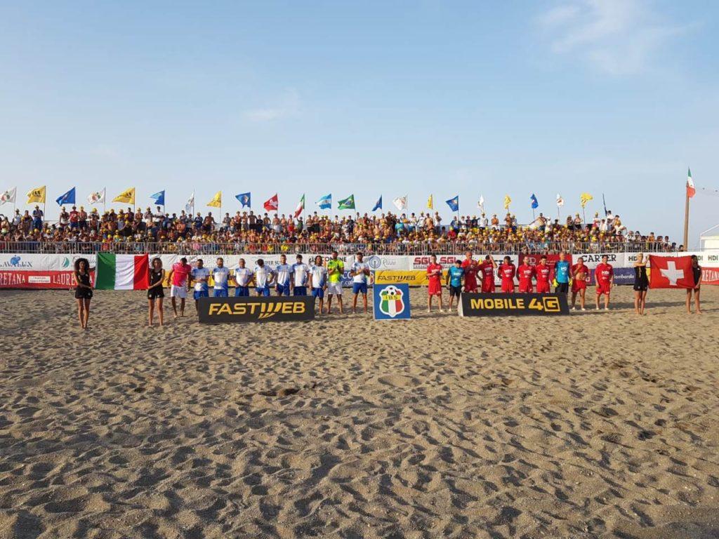Martinsicuro, tappa Italia Beach Soccer :con le nazionali Italia, Portogallo, Canada e Bielorussia