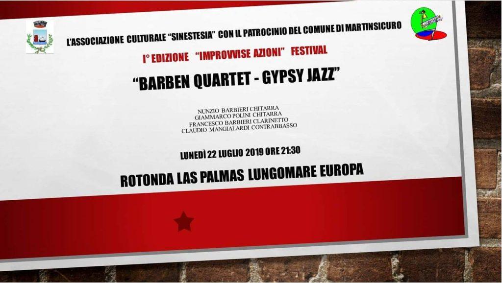 """Festival """"Improvvise Azioni"""":concerti e workshop sulla musica"""