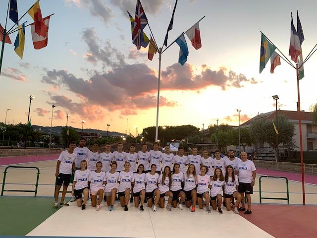 Pattinaggio, la nazionale giovanile prepara a Martinsicuro i campionati europei di Pamplona